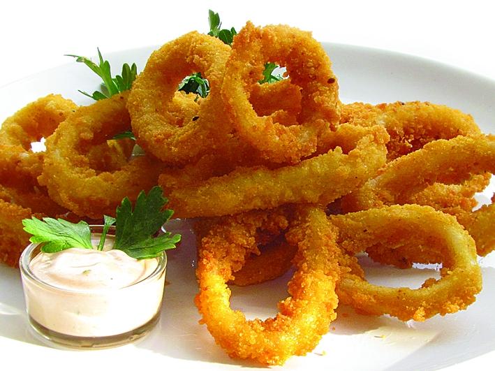 Кольца кальмары в кляре рецепт с фото пошагово